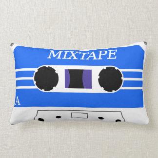 Almohada azul de encargo de MixTape
