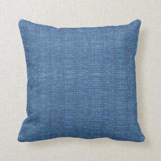 Almohada azul de la laguna