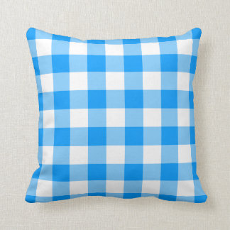 Almohada azul de MoJo del americano de la guinga