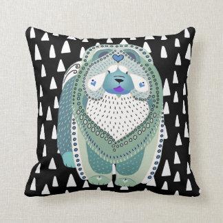 Almohada AZUL de SOPHIE de BINDI Cojín Decorativo