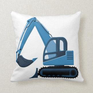 Almohada azul del excavador