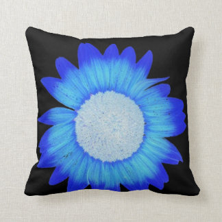 almohada azul eléctrica
