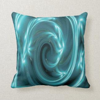Almohada azul eléctrica de los efectos luminosos