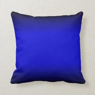 Almohada azul eléctrica sólida de Mojo del america