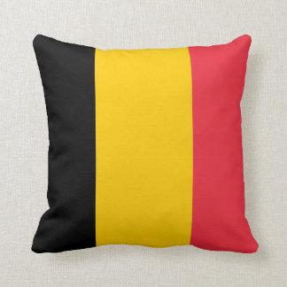 Almohada belga de MoJo del americano de la bandera