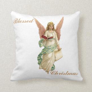 """Almohada bendecida 16"""" del ángel del navidad"""