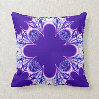 Almohada blanca púrpura de MoJo del americano de l