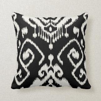 Almohada blanco y negro decorativa elegante modern