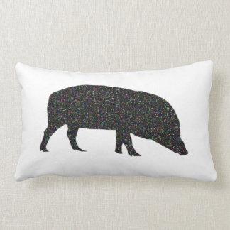 Almohada brillante del cerdo