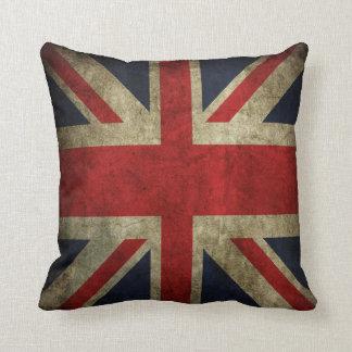 Almohada británica BRITÁNICA de la bandera de Unio