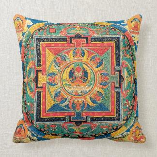 Almohada budista tibetana de la mandala