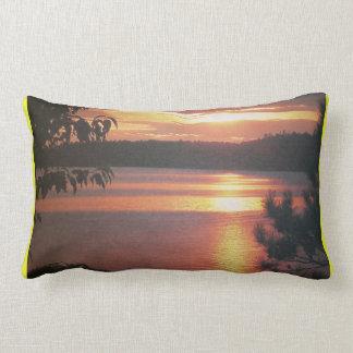 Almohada canadiense #2 de la puesta del sol