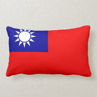 Almohada (china) taiwanesa de la bandera