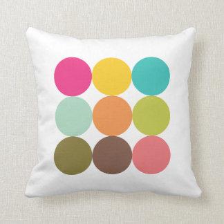 Almohada Círculos de Colores