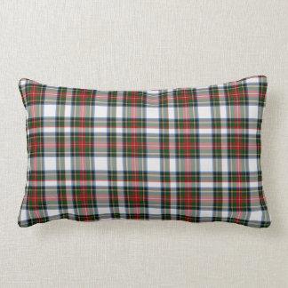 Almohada clásica de la tela escocesa de tartán del