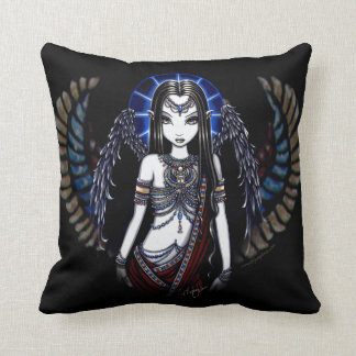 Almohada coa alas egipcio de Fae de la diosa de