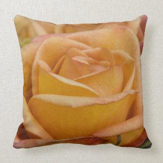 Almohada color de rosa anaranjada cojín decorativo