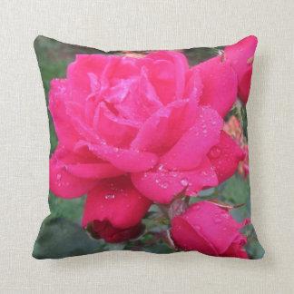Almohada color de rosa del acento