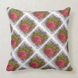 almohada color de rosa secreta del diario cojín decorativo