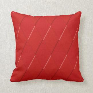 almohada coloreada ROJO de Mojo de la mirada 3D