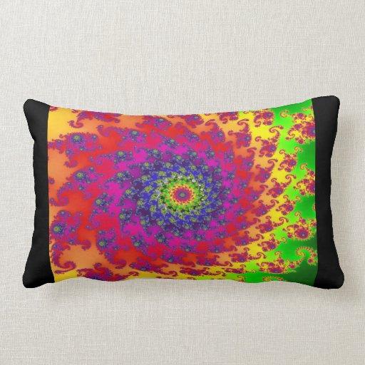 Almohada colorida