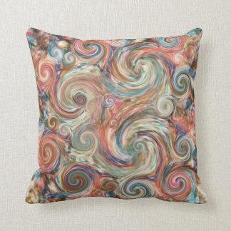 Almohada colorida de la decoración de los pasteles