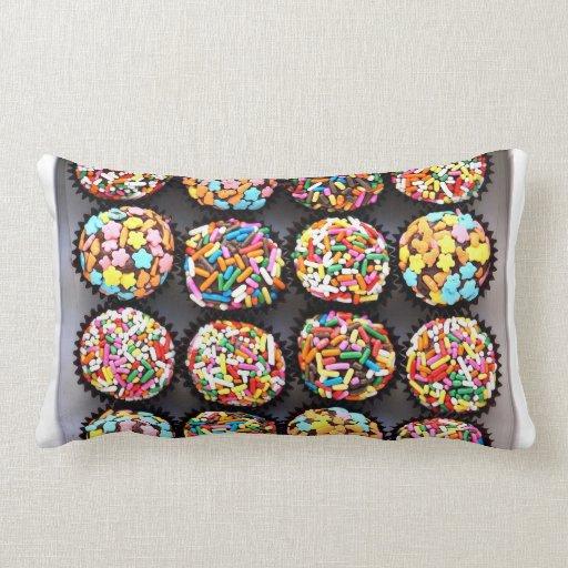 Almohada colorida de los caramelos