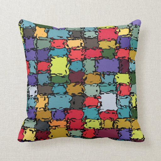 Almohada colorida de MoJo
