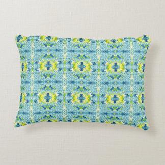 Almohada colorida del acento del tiro del arte