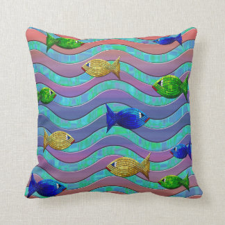 Almohada colorida del diseño del extracto de los cojín decorativo