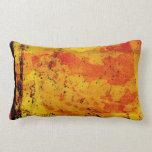 Almohada colorida del estilo del grunge