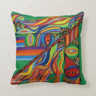 Almohada colorida del fuego