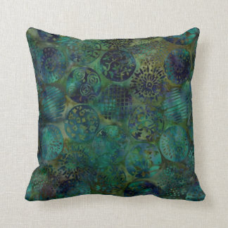 Almohada colorida elegante del modelo del batik