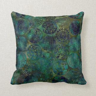 Almohada colorida elegante del modelo del batik cojín decorativo