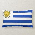 Almohada con la bandera de Uruguay