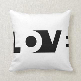 Almohada cortada amor
