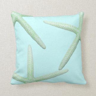 Almohada costera de la decoración de la menta y de