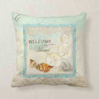 Almohada costera de la decoración del hogar de la