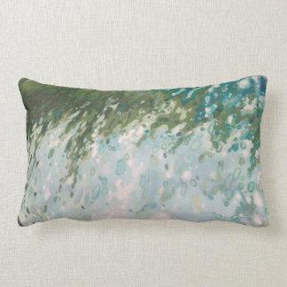 Almohada costera orgánica de la decoración de la