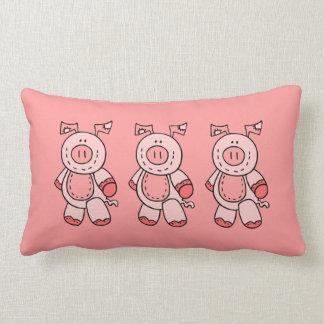 Almohada de 3 cerdos