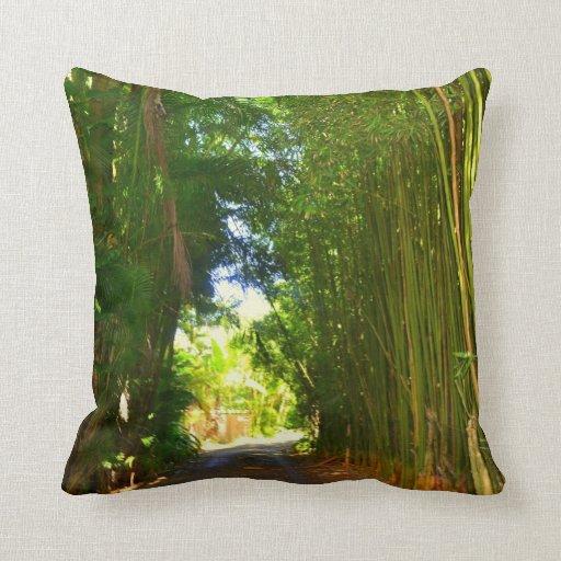Almohada de bambú del túnel