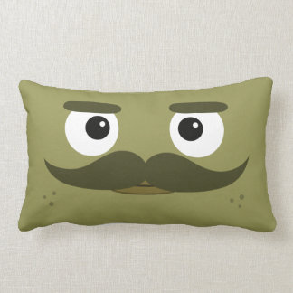 """Almohada de BBSS Moustachios #1 (21"""" x13"""")"""