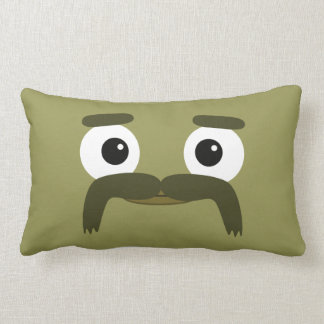 """Almohada de BBSS Moustachios #3 (21"""" x13"""")"""