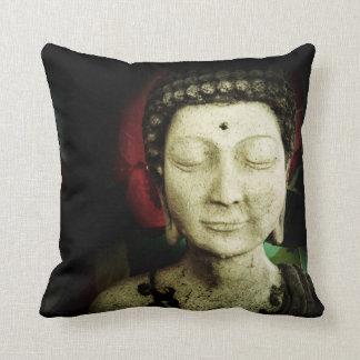 Almohada de Buda con la parte trasera impresa