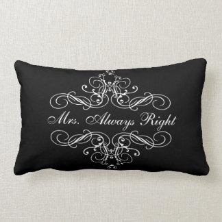 Almohada de cama de señora Always la Right Elegant