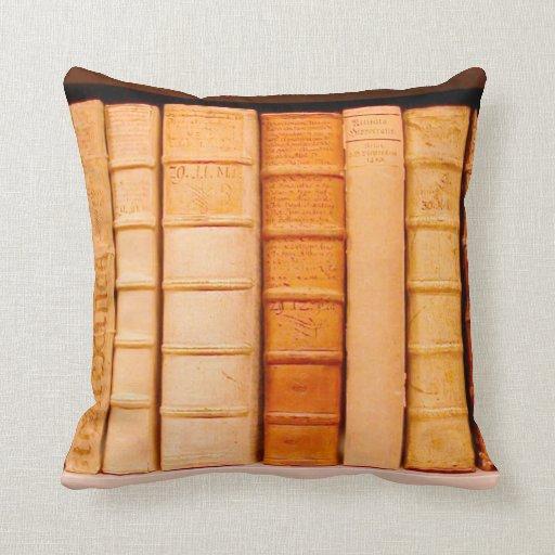 Almohada de cuero del siglo XVII antigua de los