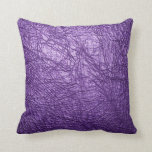 almohada de cuero púrpura de la textura