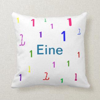Almohada de Eine - almohada de tiro decorativa del