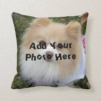 Almohada de encargo de la foto