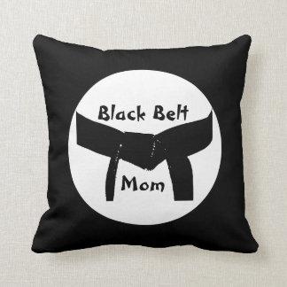 Almohada de encargo de la mamá de la correa negra
